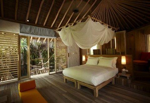 Six Senses Laamu - Beach Villa Interior