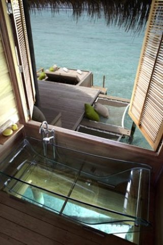 Six Senses Laamu - Water Villa - Bathroom
