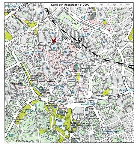 Hotel Loccumer Hof - Map