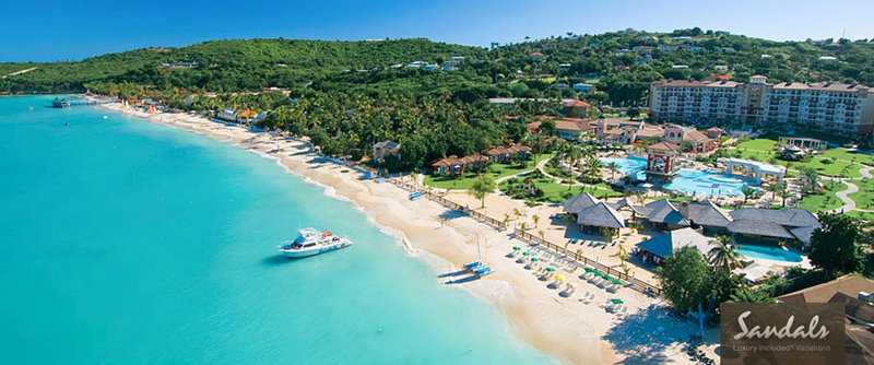 Sandals Grande Antigua, Aug 31, 2014 7 Nights