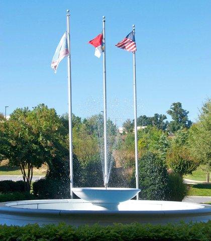 希科里萬怡酒店 - Entry Fountain
