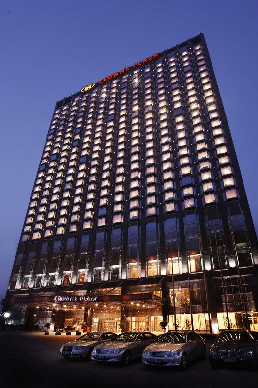 Crowne Plaza Hotel Sun Palace Beijing Pohled zvenku