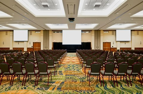 NCED Hotel And Conference Center - Main Ballroom - Theatre Style