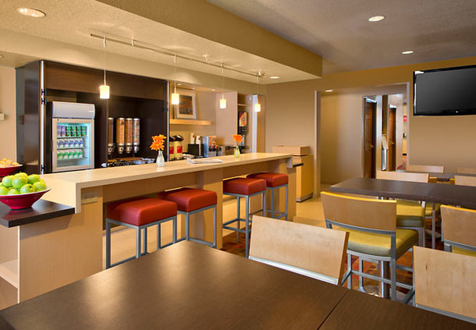 Hotel TownePlace Suites Denver Tech Center Ravintolat