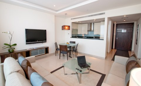 Bonnington Jumeirah Lakes Towers - One Bedroom Apartment - Living and Dining Area