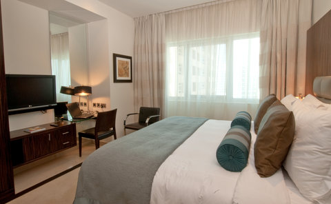 Bonnington Jumeirah Lakes Towers - One Bedroom Deluxe Apartment - Ensuite Bedroom