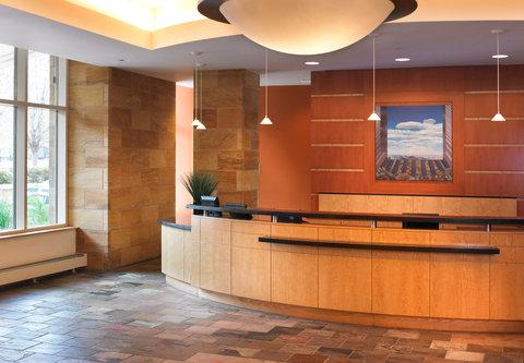 Cincinnati Kingsgate Conference Center Hotel - Front Desk