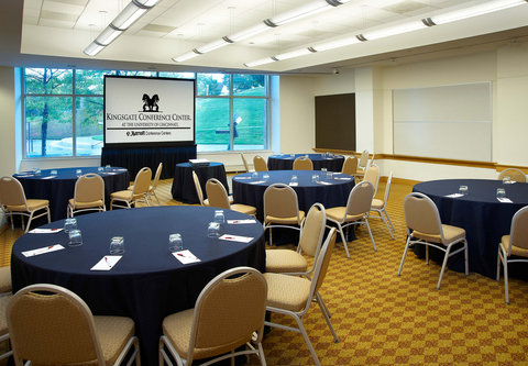 Cincinnati Kingsgate Conference Center Hotel - Meeting Room   Cabaret Style