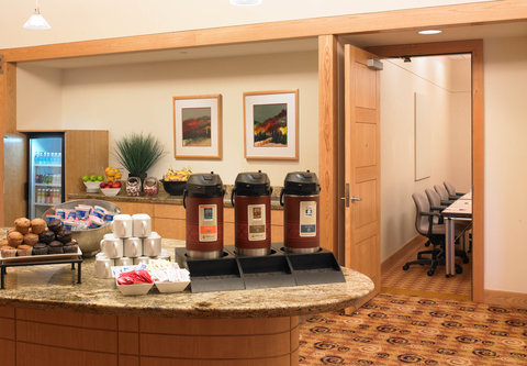 Cincinnati Kingsgate Conference Center Hotel - Break Station