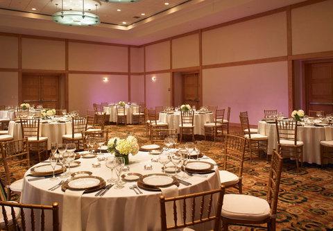 Cincinnati Kingsgate Conference Center Hotel - Grand Ballroom Wedding