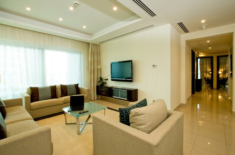 Bonnington Jumeirah Lakes Towers - Three Bedroom Apartment - Living Area