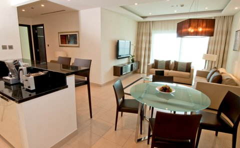 Bonnington Jumeirah Lakes Towers - Two Bedroom Apartment - Living Area