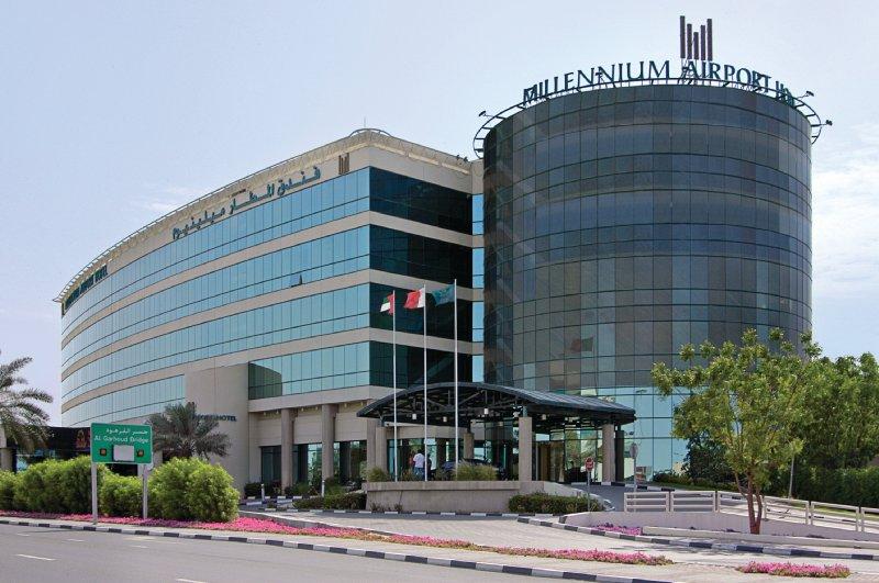 Millennium Dubai Airport Hotel Vue extérieure