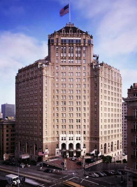 InterContinental Mark Hopkins San Francisco Außenansicht