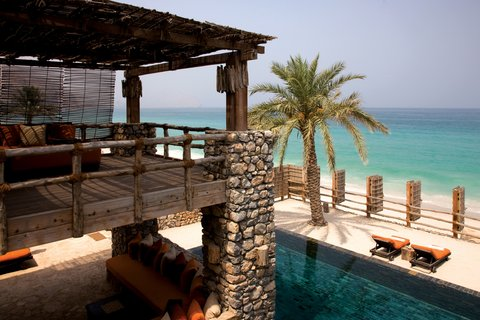 Six Senses Zighy Bay - Private Retreat Bedroom Balcony
