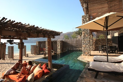 Six Senses Zighy Bay - Zighy Pool Villa Suite Beach Front