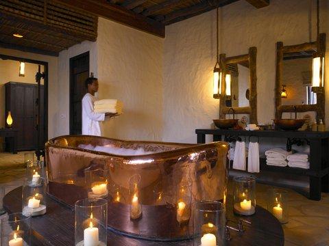 Six Senses Zighy Bay - Private Reserve Master Bathroom
