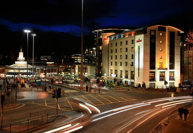 Liverpool Marriott Hotel City Centre Buitenaanzicht
