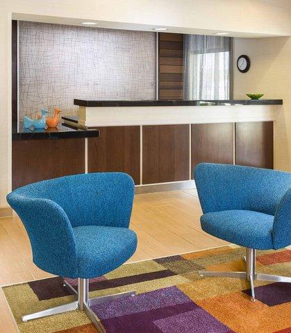 Fairfield Inn & Suites Holland - Front Desk   Lobby
