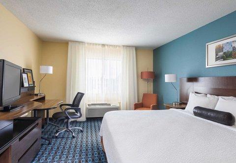 Fairfield Inn & Suites Holland - King Guest Room