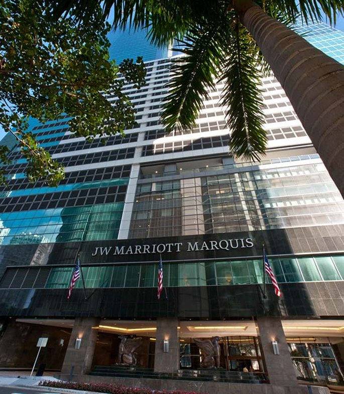 JW Marriott Hotel Beaux Arts Miami Vista exterior