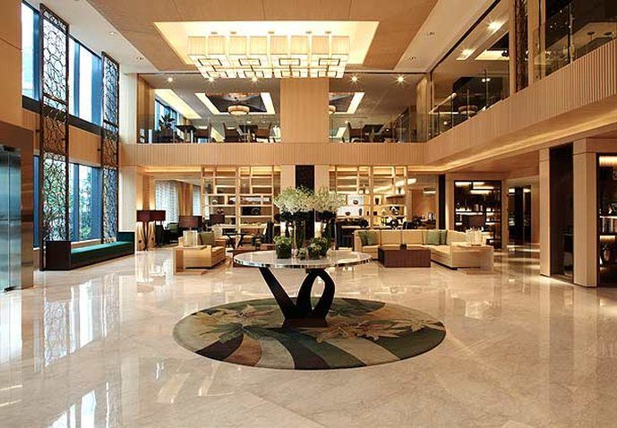 Courtyard by Marriott Shanghai Puxi Lobby