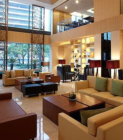Courtyard by Marriott Shanghai Puxi Lobby