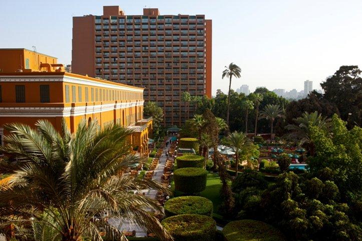Marriott Cairo Hotel and Omar Khayyam Casino Dış görünüş