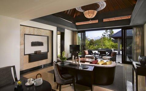 بانيان تري أونغاسان - Garden Villa Living Room