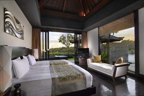 بانيان تري أونغاسان - Sanctuary Vila Twin Bedroom