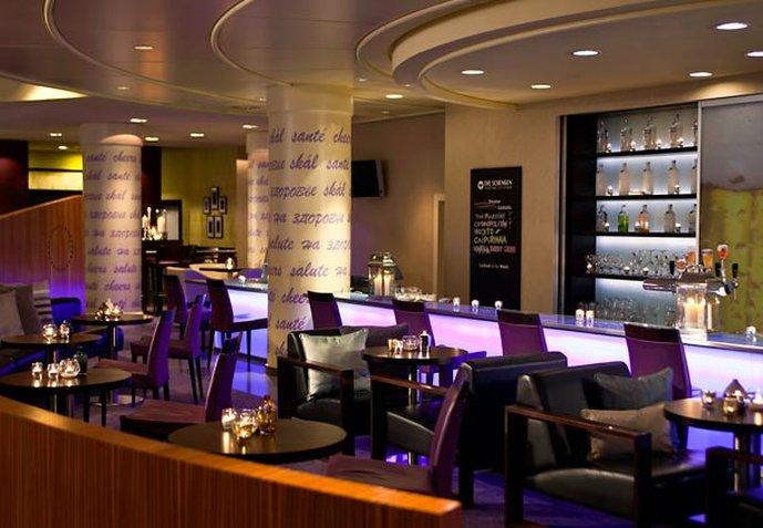 Marriott Executive Apartments Brüssel Bar/Lounge
