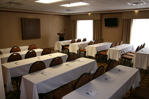 Holiday Inn Express & Suites WESTFIELD - Book your next event or party in our spacious Meeting Room