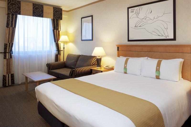Holiday Inn London-Kings Cross/Bloomsbury Huonenäkymä