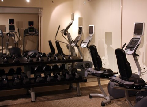 Quality Suites Convention Center Hotel - Crowne Plaza Charleston Airport Fitness Center