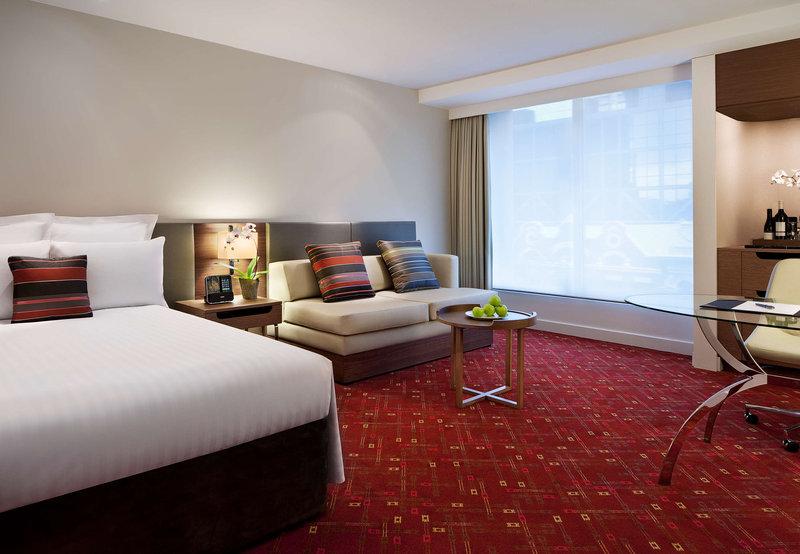 Melbourne Marriott Hotel Szobakilátás