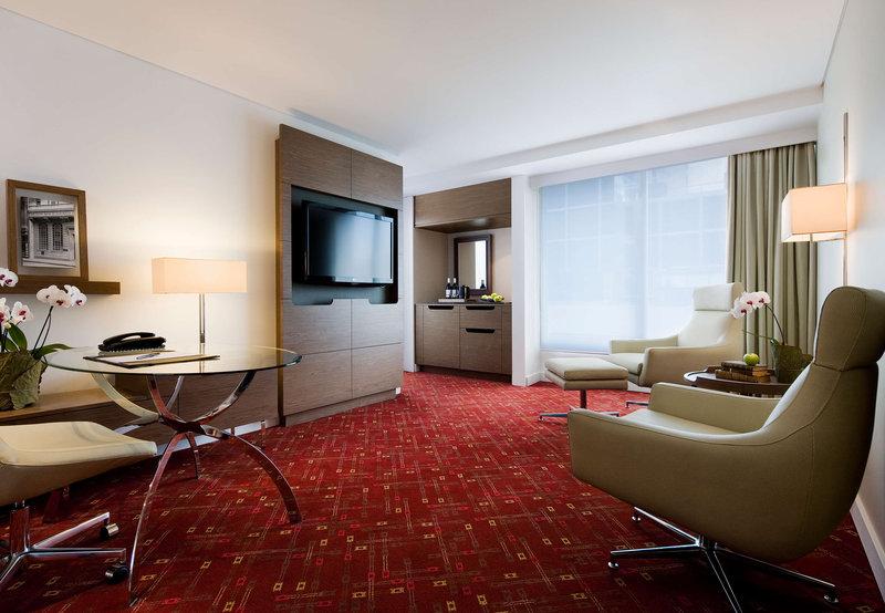 Melbourne Marriott Hotel Billede af værelser