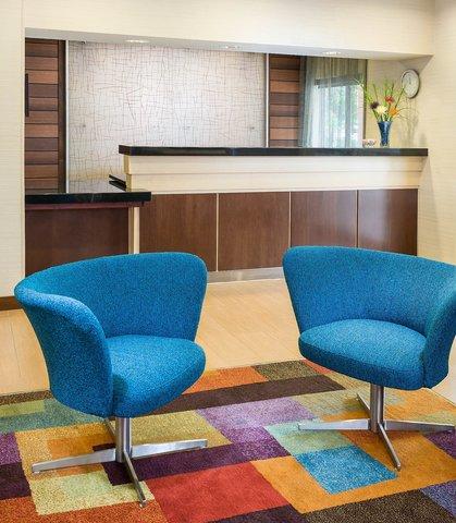 Fairfield Inn & Suites Dallas Park Central - Front Desk   Lobby