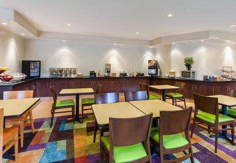 Fairfield Inn & Suites Dallas Park Central - Breakfast Buffet