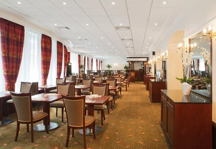 Moscow Marriott Tverskaya Hotel Gastronomie
