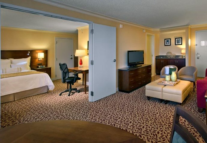 Marriott Denver Airport at Gateway Park Vista do quarto