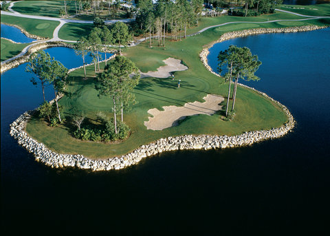 GreenLinks Golf Villas at Lely Resort, Ascend Hotel - Flamingo 11th Hole
