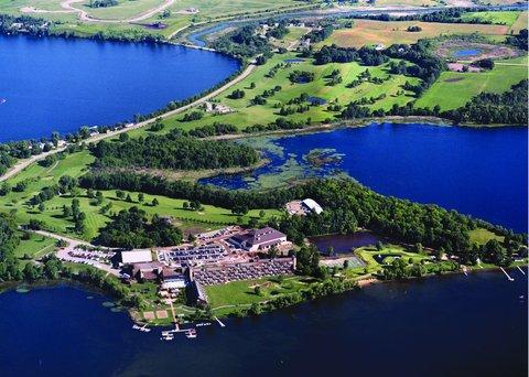 Arrowwood Resort - Aerial