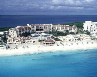 Solymar Cancun Beach Resort - Aerial View