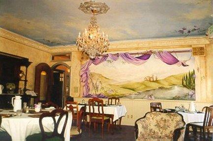 Blue Violet Mansion - Restaurant
