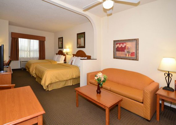 Comfort Suites Near the Galleria Houston Pokoj