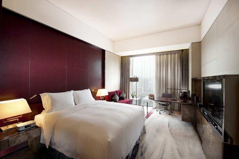 广州天河新天希尔顿酒店 客房视图