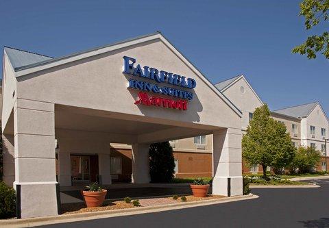 Fairfield Inn by Marriott Naperville - Entrance