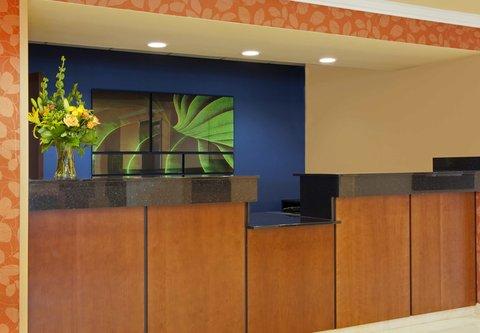 Fairfield Inn by Marriott Naperville - Front Desk