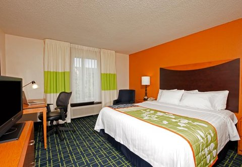 Fairfield Inn by Marriott Naperville - King Guest Room