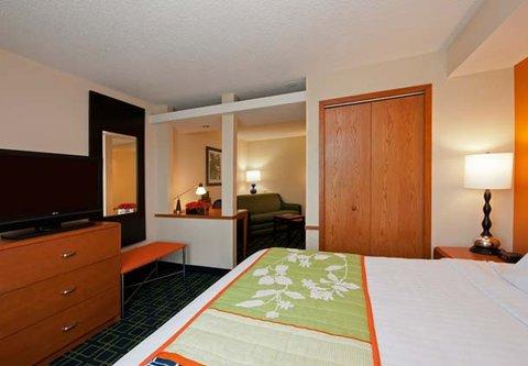 Fairfield Inn by Marriott Naperville - King Studio Sleeping Area
